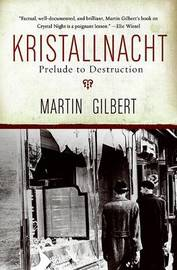 Kristallnacht by Martin Gilbert image