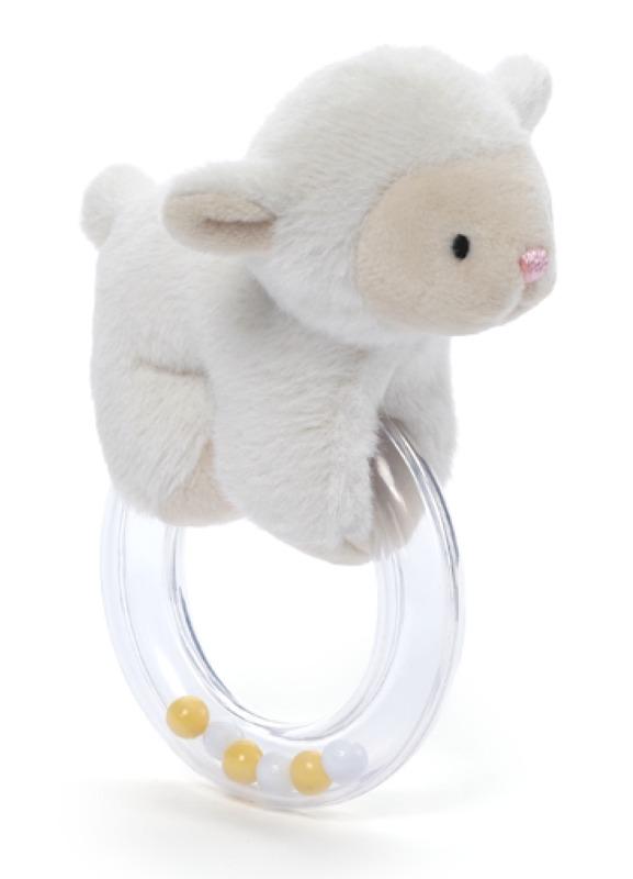 Gund: Lopsy Lamb - Ring Rattle
