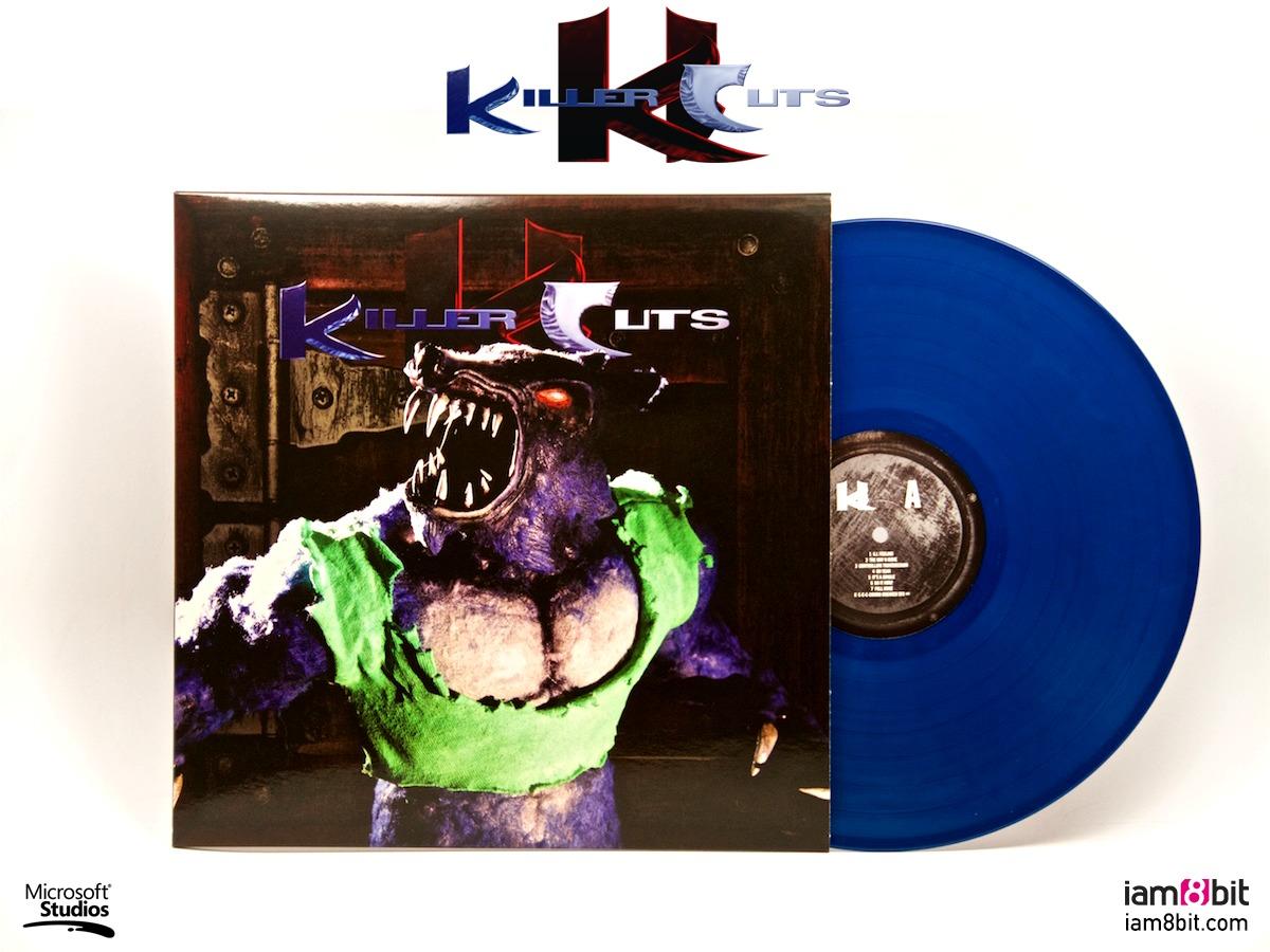 Killer Cuts - Killer Instinct Soundtrack (LP) by Robin Beanland image