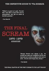 The Final Scream by Adrian Roe image