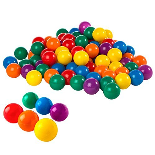 Intex: Fun Ball - Small Plastic Ball Set (100 piece) image
