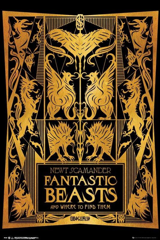 Fantastic Beasts 2 Maxi Poster - Book Cover (952)