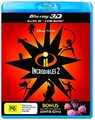 Incredibles 2 on 3D Blu-ray