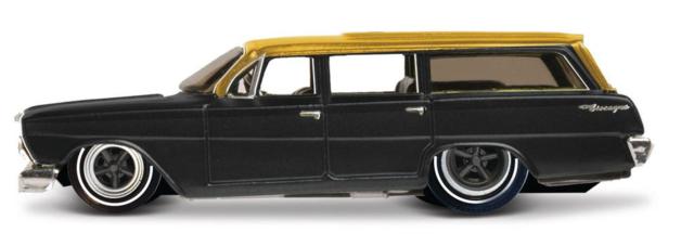 Maisto: 1:64 Die-Cast Vehicle - Design Outlaws (Black Hatchback)