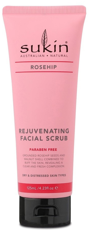 Sukin Rosehip Rejuvenating Facial Scrub (125ml)