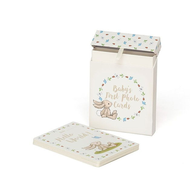 Jellycat: Bashful Bunny - Baby's First Photo Cards