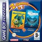 Finding Nemo + Monsters Inc. (Double Pack) for Game Boy Advance