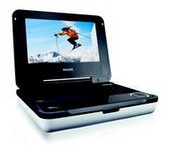 "Philips PET704 7"" Portable DVD Player"