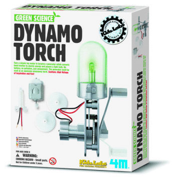 4M: Green Science Dynamo Torch