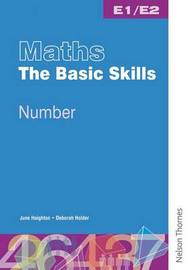 Maths the Basic Skills Number Worksheet Pack E1/E2 by Bridget Phillips image