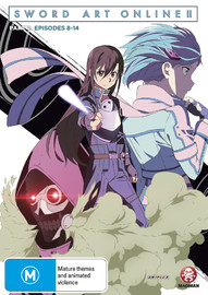 Sword Art Online 2 (Part 2) on DVD
