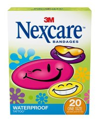 Nexcare Band 5940 Cool Tattoo (20pk)