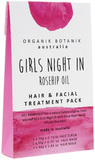 Organik Botanik Splotch - Girls Night In Hair & Facial Treament Pack (Rosehip)
