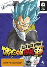 Dragon Ball Super - Part 3 (Eps 27-39) on DVD