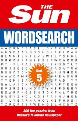 The Sun Wordsearch Book 5 by The Sun image