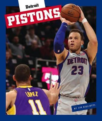 Detroit Pistons by Jim Gigliotti