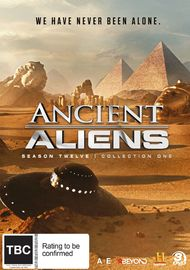 Ancient Aliens: Season 12: Collection 1 on DVD image