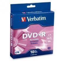 Verbatim DVD+R 4.7GB 10Pk Spindle 16x
