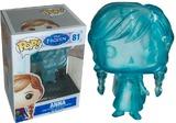 Disney Frozen Anna Clear Blue Pop! Vinyl Figure