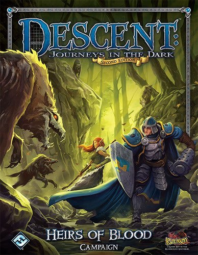 Descent: Heirs of Blood - Campaign Book