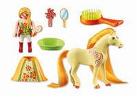 Playmobil: Foil Bag - Princess Sunny & Horse (6168)