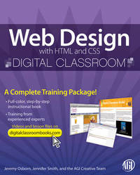 Web Design with HTML and CSS Digital Classroom by AGI Creative Team image