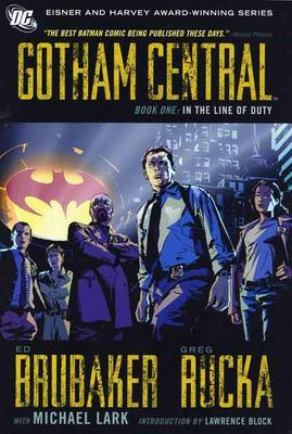 Gotham Central Book 1 by Ed Brubaker