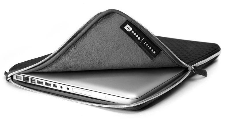 "BOOQ: 12"" Taipan Spacesuit - Macbook Sleeve (Black) image"
