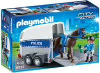 Playmobil: Police with Horse and Trailer