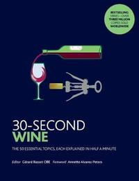 30-Second Wine by Gerard Basset image