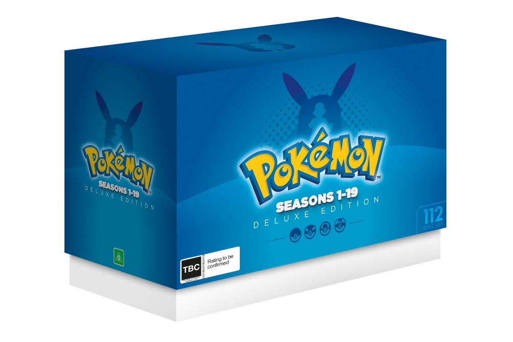 Pokemon - Deluxe Edition (Seasons 1-19) on DVD image