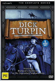 Dick Turpin: Complete Series (5 Disc Box Set) on DVD image