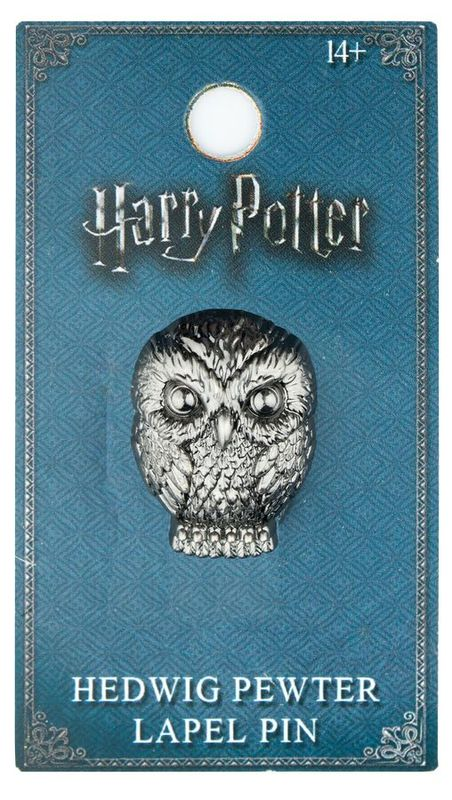 Harry Potter - Hedwig Pewter Lapel Pin