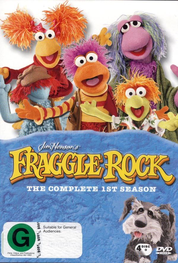 Fraggle Rock (Jim Henson's) - Complete Season 1 (4 Disc Box Set) on DVD image