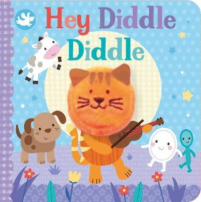 Little Me Hey Diddle Diddle Finger Puppet Book by Parragon Books Ltd image