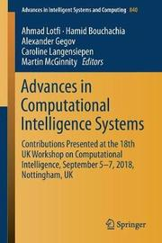 Advances in Computational Intelligence Systems image