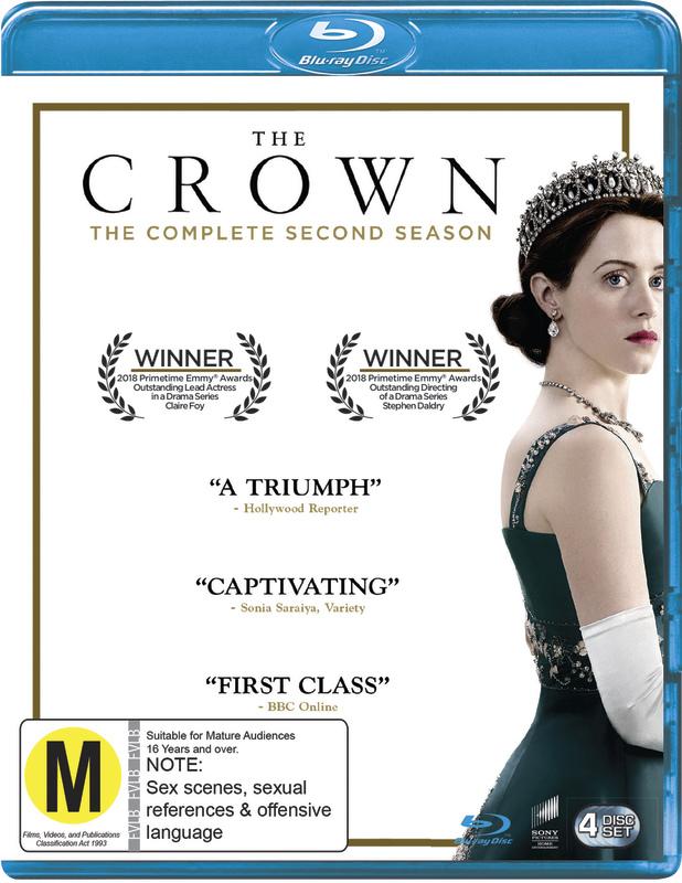The Crown Season 2 on Blu-ray