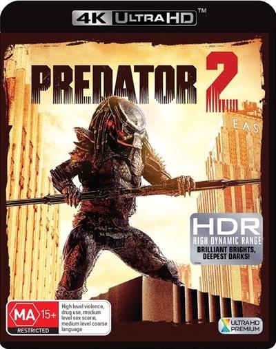 Predator 2 on UHD Blu-ray