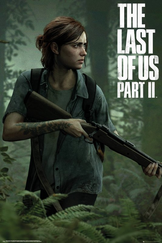 The Last of Us 2: Maxi Poster - Ellie (1022)