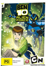 Ben 10: Alien Force - Vol. 4 on DVD