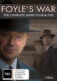 Foyle's War: Episodes 13-16 on DVD