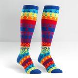 Sock it to Me Kaleidoscope Women's Knee High Socks