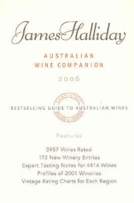 James Halliday's Australian Wine Companion 2006 by James Halliday image