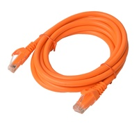 8ware: Cat 6a UTP Ethernet Cable Snagless - 3m (Orange)