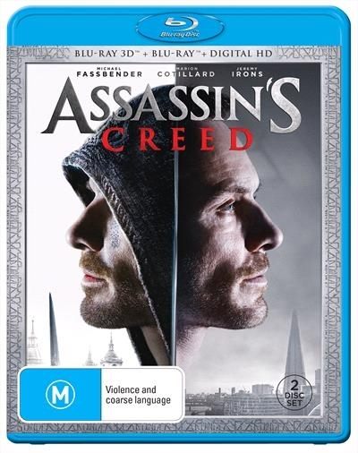 Assassin's Creed on Blu-ray, 3D Blu-ray