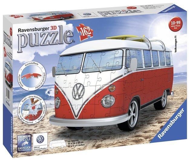 Ravensburger: VW Combi Bus Puzzle 3D Puzzle - 162pc