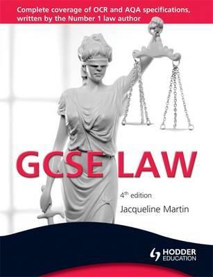 GCSE Law by Jacqueline Martin