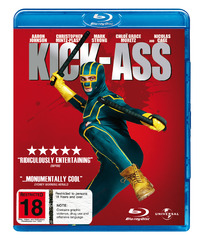 Kick-Ass on Blu-ray