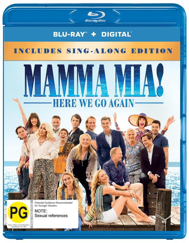 Mamma Mia: Here We Go Again! on Blu-ray