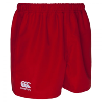 Professional Polyester Short - Red (2XL)